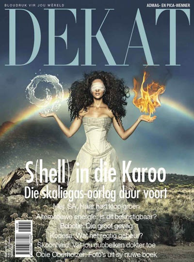 DEKAT July/August issue 2013 (Green issue) with Ms. SA, Marilyn Ramos. Afrikaans edition.