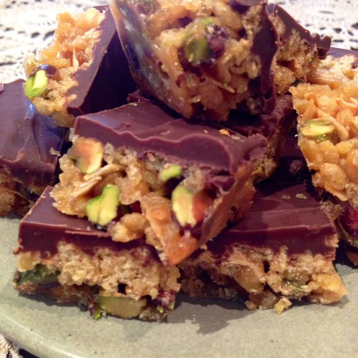 Pistachio and Coconut Crunch