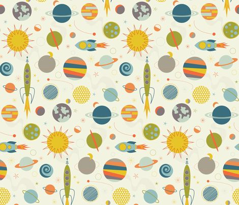1497 best fabric patterns images on pinterest groomsmen for Space boy fabric