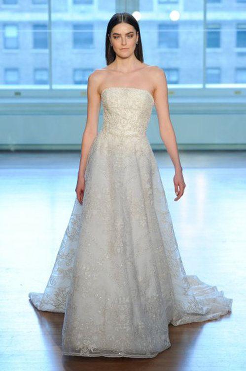vestidos de novia palabra de honor. ¡un clásico que no debes dejar