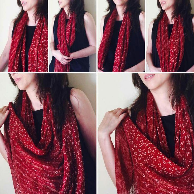 The most important thing is, scarf is for STYLE, not just warmth...