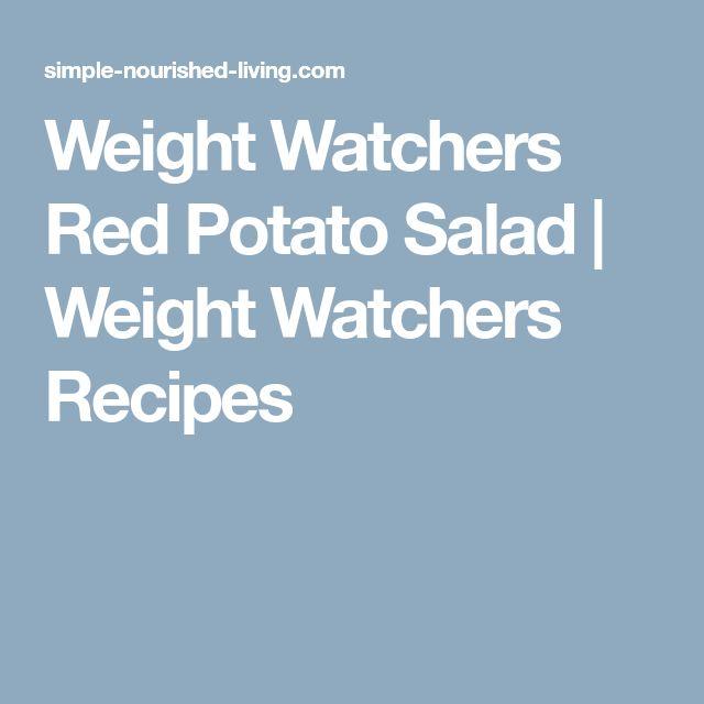 Weight Watchers Red Potato Salad   Weight Watchers Recipes