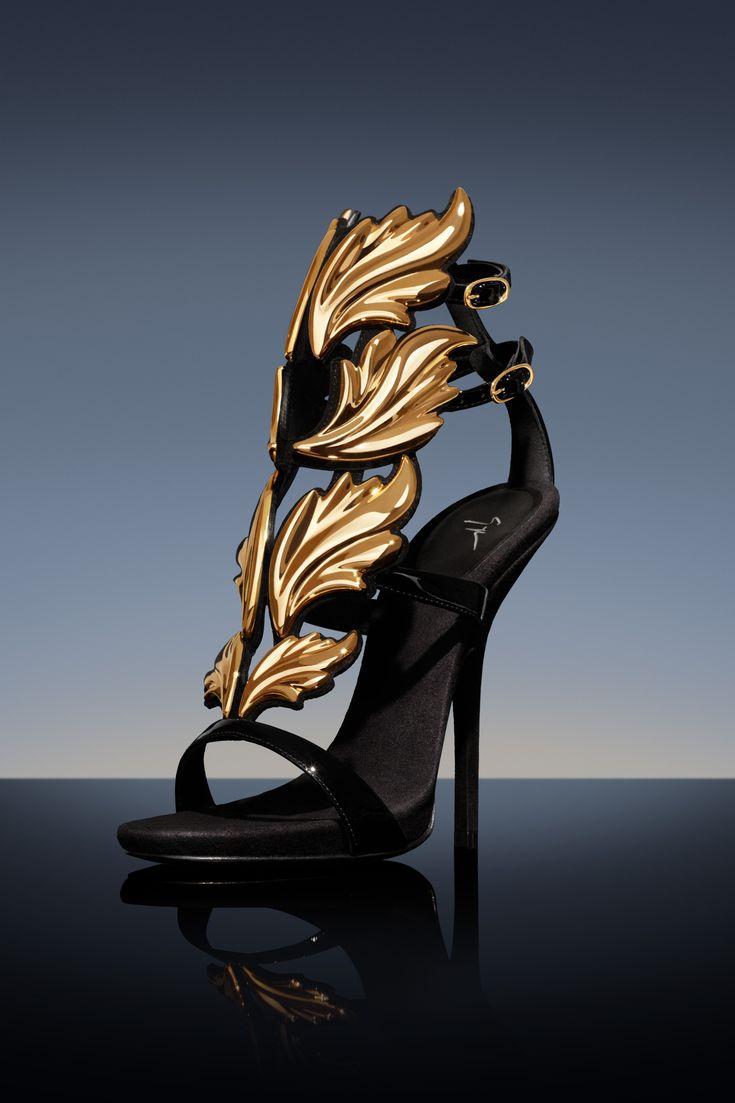 """It's a very expressive sandal, it's hip-hop in a luxury shoe"" Giuseppe. CRUEL SUMMER sandal, SS 13. Discover more @ giuseppezanottidesign.com"