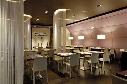 Arquitectura-Página | restaurante de Rozmarin, barra de vino y cafetería por AKSL Arhitekti