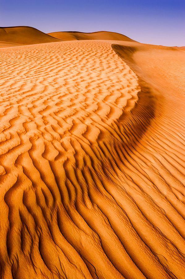 Sand dunes in Arabian desert, Al Ain. Photo by Michael Keith Manges on 500px. UNESCO World Heritage Site. #desert #nature #royalcaribbean