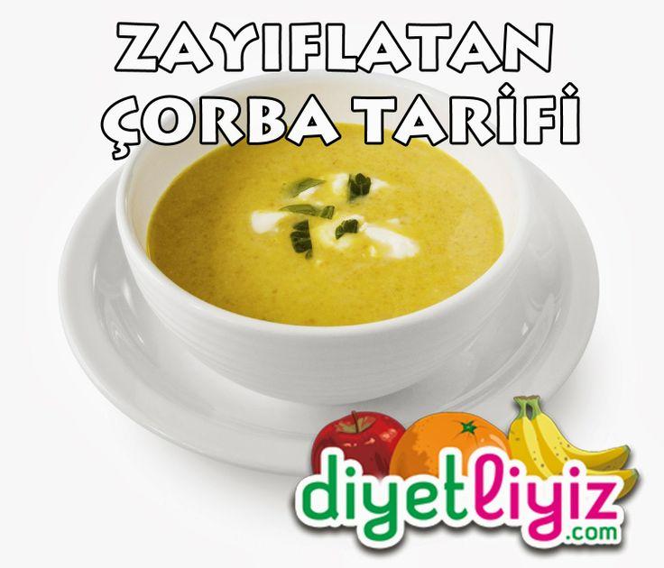 """Diyet esnasında en çok tercih edilen gıdalardan birisi çorbadır ! Sizde diyetinize uygun """"Zayıflatan Çorba"""" tarifi sayesinde sağlıklı ve zayıflamanıza yardımcı bir çorba yapabilirsiniz !"""