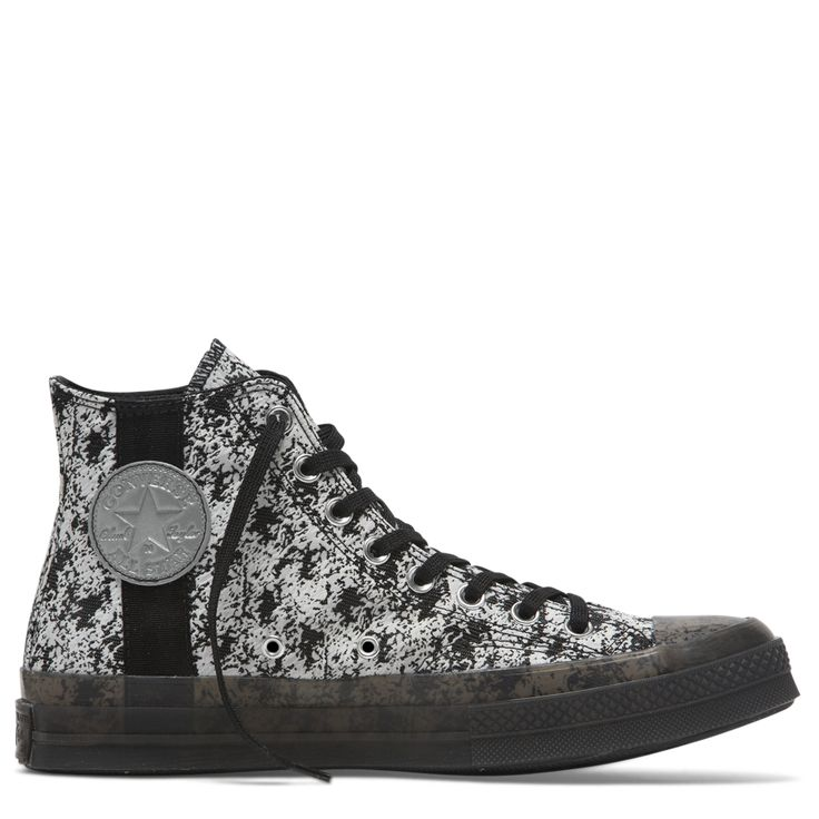 Converse Men's Chuck Taylor All Star Hi in Faded SpruceBlackWhite