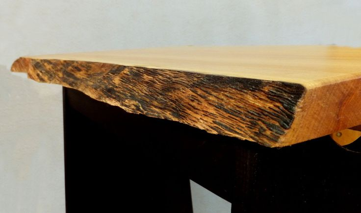 Finishing a Natural Edge Table Top.