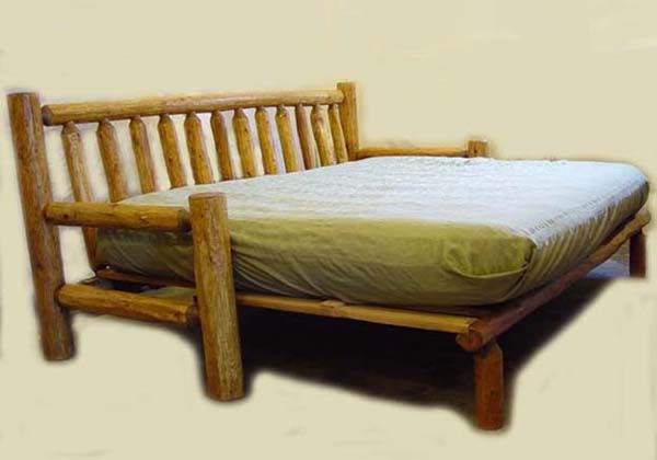 Rustic Futons 1200 free delivery
