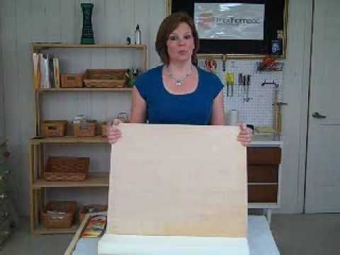 Great tutorial on how to tufted a headboard