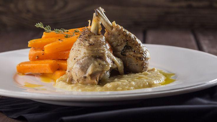 Курица с 40 Зубчиками Чеснока || FOOD TV Вокруг света: Аквитанский Ужин