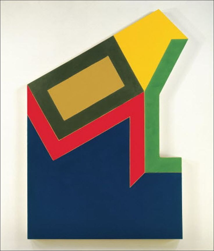 Frank Stella (b1937) is an American painter and printmaker, noted for his work in the areas of minimalism and post-painterly abstraction.