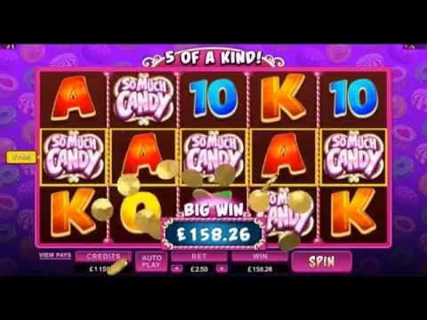 So Much Candy Online Slot Game - September 2014 - YouTube