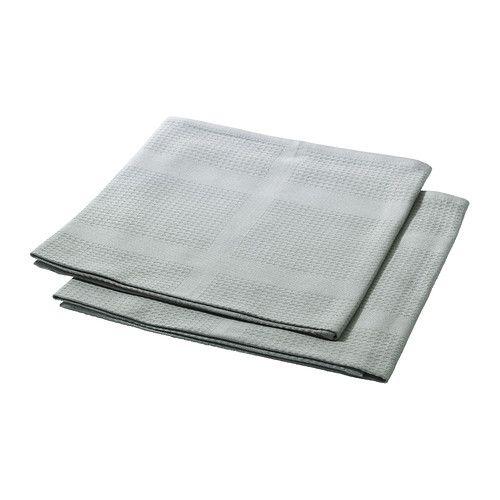 IKEA - IRIS, Geschirrtuch, Die Farben bleiben auch nach häufigem Waschen erhalten, da das Baumwollgarn durchgefärbt ist.