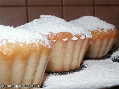 Рецепты кексов, тортов