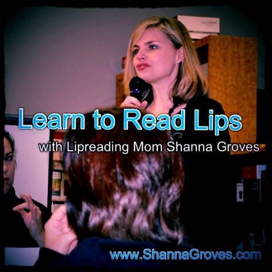 Lipreading Mom: Five Ways to Improve Your Lipreading Skills. Pinned by SOS Inc. Resources. Follow all our boards at pinterest.com/sostherapy for therapy resources.