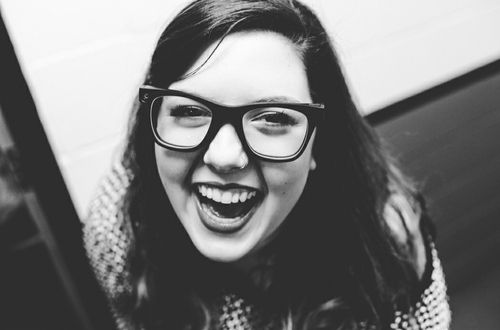 When you're feeling very low: Force yourself to laugh. | Mary Lambert's Tips For Staying Positive (Even On Really Bad Days) I love her so much, this picture is especially beautiful.