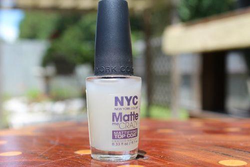 NYC Nail Polish Lacquer Sale Matte Me Crazy Mattifying Top Coat VHTF New | eBay Hecka cheap