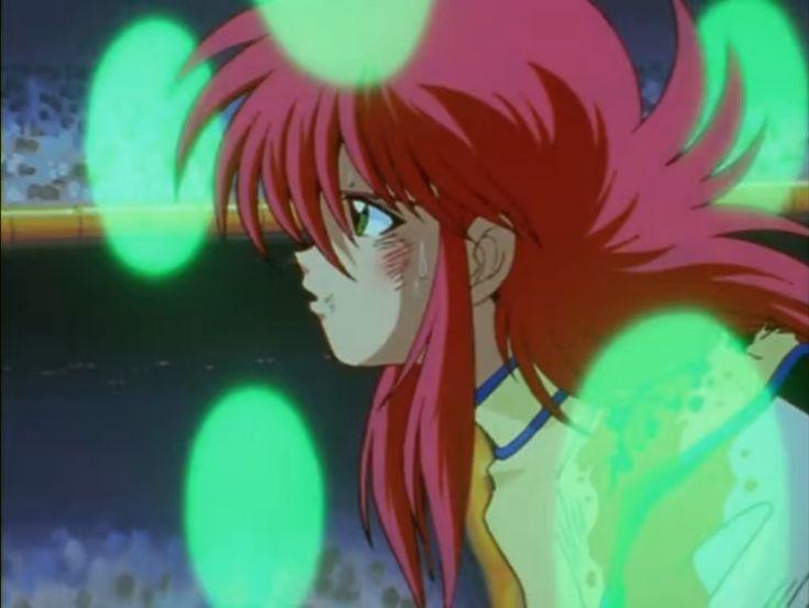 Kurama during the Dark Tournament