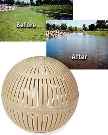 Biodegradable Aquasphere Pond Cleaners | Buy from Gardener's Supply