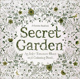The Secret Garden You can't be all business, all the time. Everyone needs some down time, and 'grown up colouring books' have become incredibly popular for relaxation. Enjoy a little bit of structured creativity with this beautiful book and a set of your favourite colouring implements.