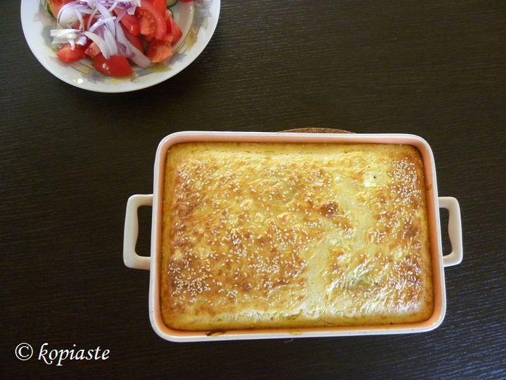 Το Χανιώτικο Μπουρέκι είναι ένα φαγητό που προέρχεται από τα Χανιά της Κρήτης με βασικά υλικά τις πατάτες και τα κολοκύθια.