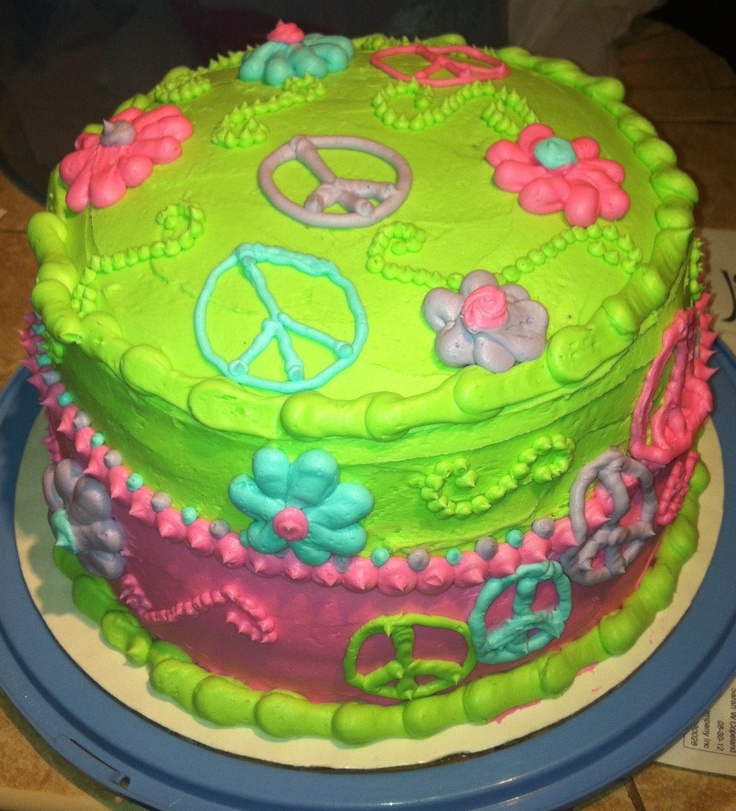 Cake Decorating Ideas Peace Sign : 187 best images about Cake Decorating on Pinterest Cake ...