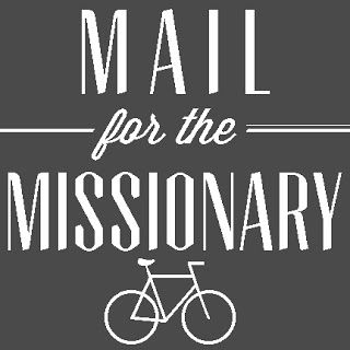 what to send and write to missionaries - brilliant ideas. wink wink. nod nod. nudge nudge... ;)