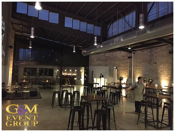 Kasey & James' wedding @ the Joinery West End - Warm White Uplighting | Wedding Lighting #warehousewedding #uplighting #weddinglighting #gmeventgroup