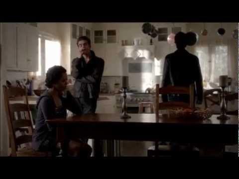 The Vampire Diaries 3x21 Damon takes Bonnie to Elena's house, Klaus pays...