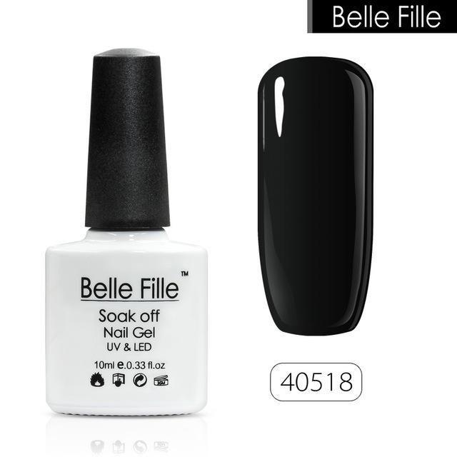 Belle Fille Gel Vernis À Ongles Laque Vernis De Manucure UV Soak Off Neon Gel De Ongles Gel UV Vernis À Ongles Vernis Semi Permanent
