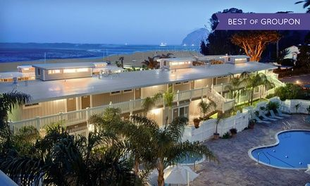 Located on Morro Bay, this private inn has stunning coastal views and a restaurant serving local seafood