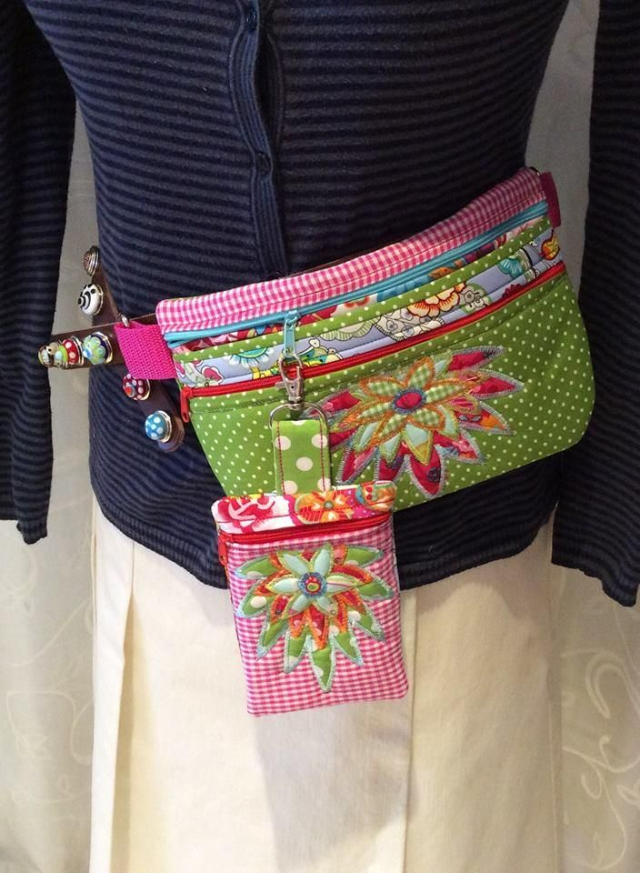 3D Flower Fanny Bag 6x10 7x12 | Embroidery | Machine