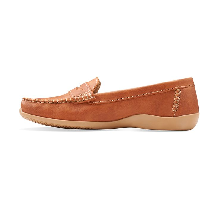 Soft Sonata leather slip on ladies shoe built for comfort. It is made in  South