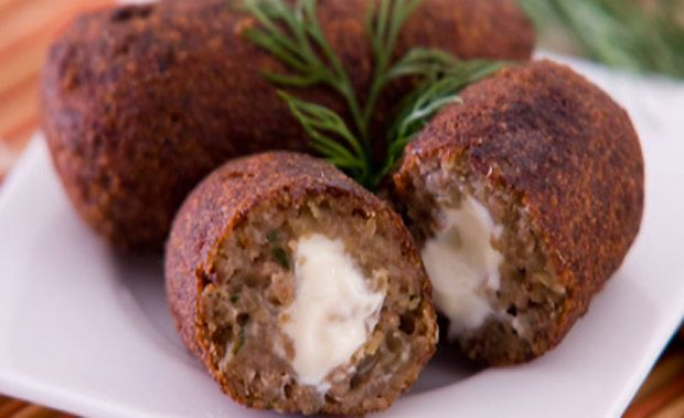 Croquete de carne recheado com cream cheese - Receitas - GNT