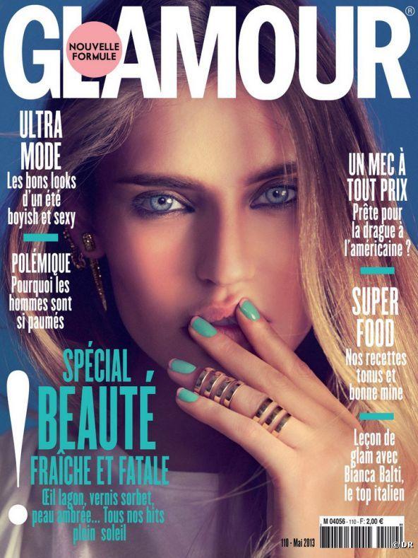 Este mes, el rostro de Bianca Balti es el protagonista de la portada de 'Glamour'