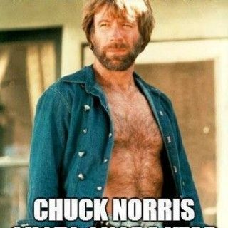 The flu has to get a Chuck Norris Shot once a Year Posted from Long Marton, England, United Kingdom. Related