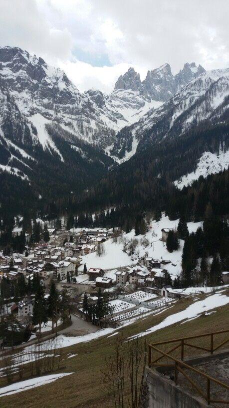 Falcade alto con il Focobon dolomiti bellunesi - Dolomites, province of Belluno, Veneto, Northern Italy