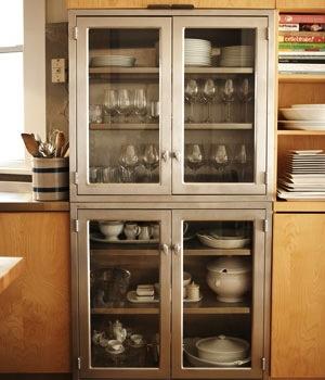 Industrial kitchen storage kitchens pinterest for 7 x 9 kitchen cabinets