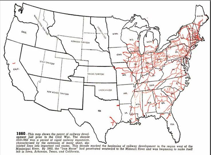 Maps That Explain The American Civil War Industrial - Us map before civil war