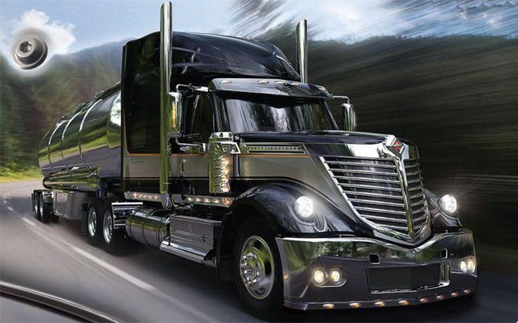 international star truck | INTERNATIONAL LONESTAR HARLEY DAVIDSON EDITION. Con aspecto GOTICO ...