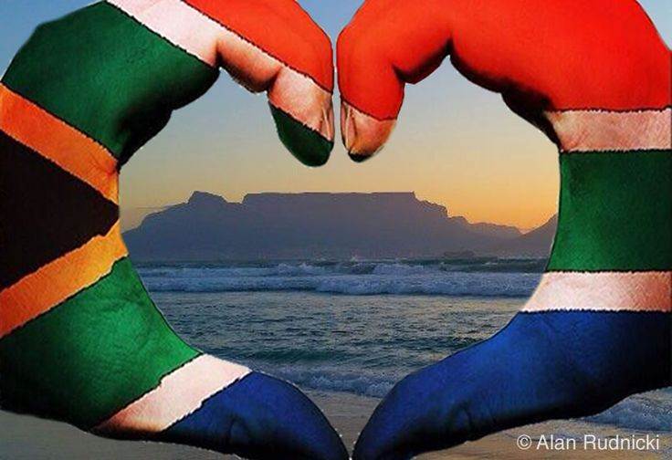 Happy Valentine's Day, South Africa!