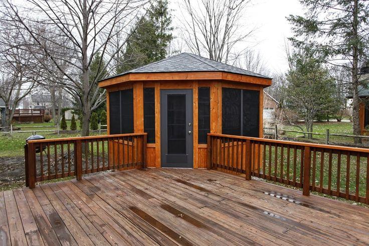 Best 25+ Enclosed gazebo ideas on Pinterest   Garden ...