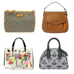 A fabulous mix of fashionable handbags.  This package may come with totes, shoppers, clutches & more.  Brands may include: DKNY, Chloé, Vivienne Westwood, Love Moschino, Michael Kors, Chloé, Ted Baker, Weekend, Dickins & Jones.  Quality: A1 (new without defects).  Limited availability.  Sales restrictions apply.  Price is per package.  Brands breakdown:  - designer brands 30% (DKNY, Vivienne Westwood, Chloé, Love Moschino, Michael Kors, Ted Baker)  - highstreet brands 70% (Dickins & Jones…