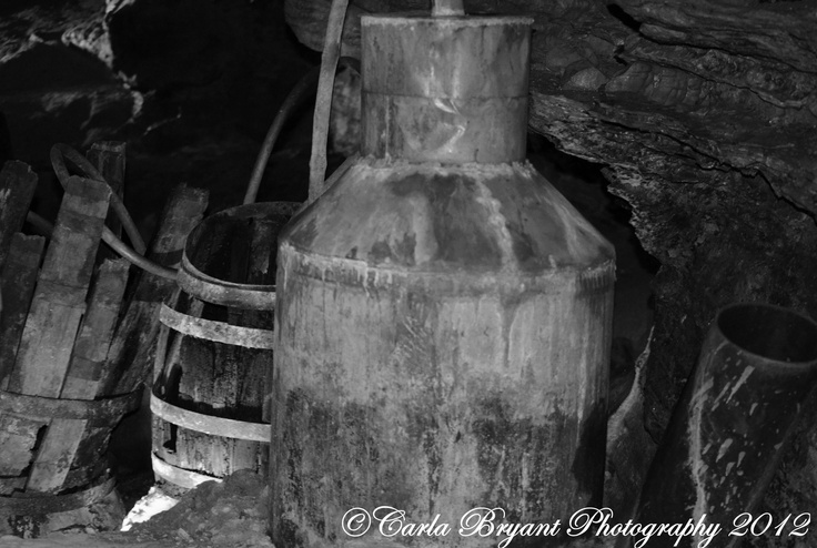 An Old Moonshine Still In A Cave Tn Our Mountain Way Of