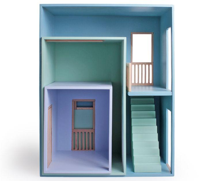 Puppenhaus 4-teilig