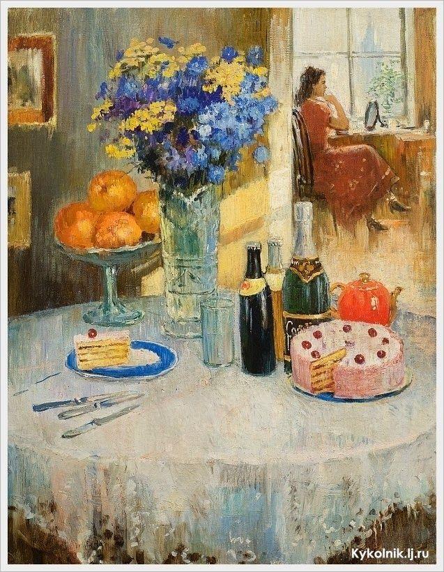 Yuri Ivanovich Pimenov (russisk, 1903-1977) 1950