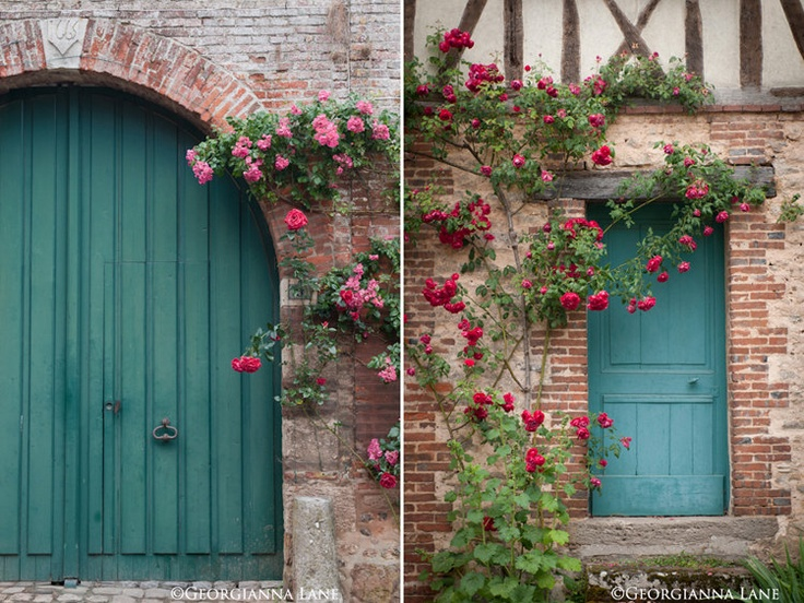 French Country Photography French Home Decor Blue Doors