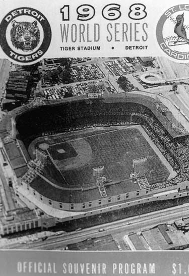 Tigers Stadium 1968 World Series Detroit Tigers vs St. Louis Cardinals