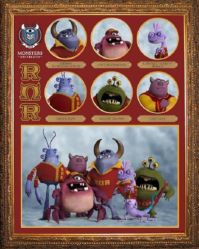 Monster's University - ROR Fraternity